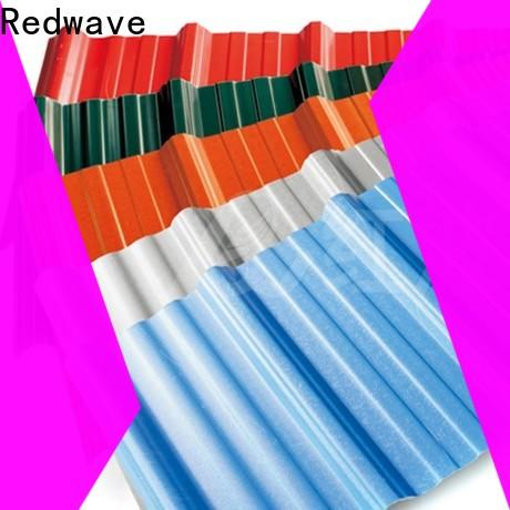 wholesale pvc roofing sheet long from China for scenic buildings