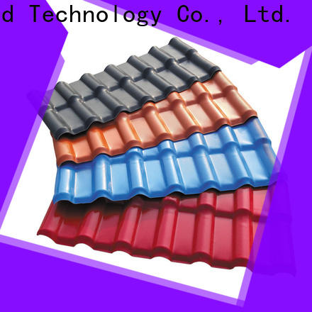 Redwave resistance roofing resin certifications for residence