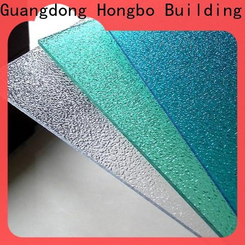superior polycarbonate roof hollow from China for housing