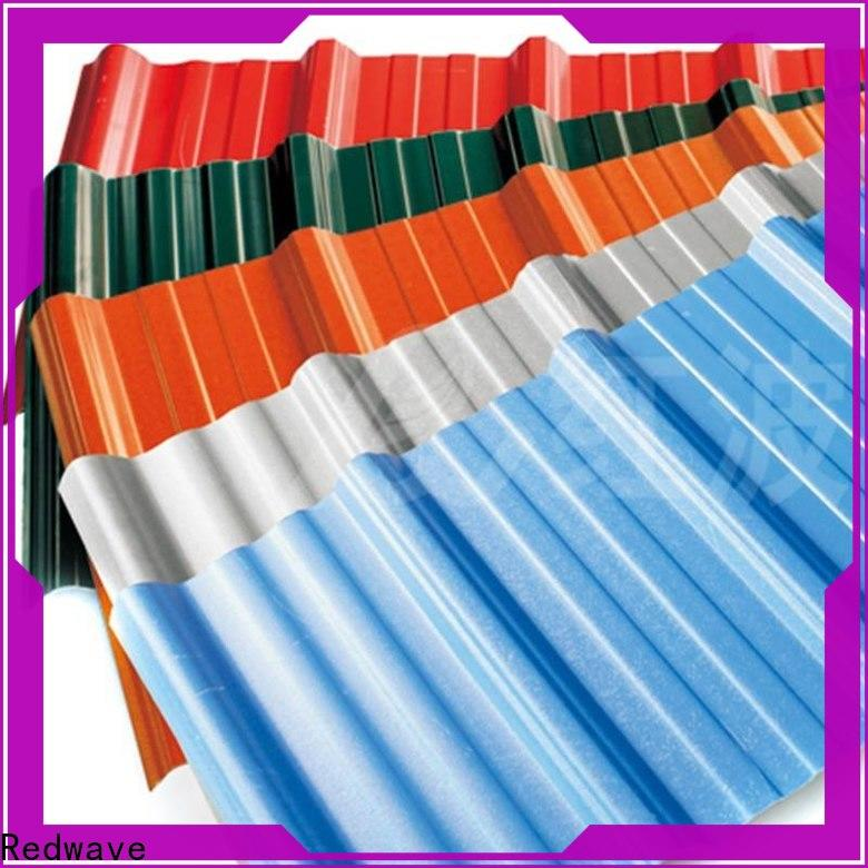 Redwave eco-friendly corrugated roofing free quote for scenic buildings