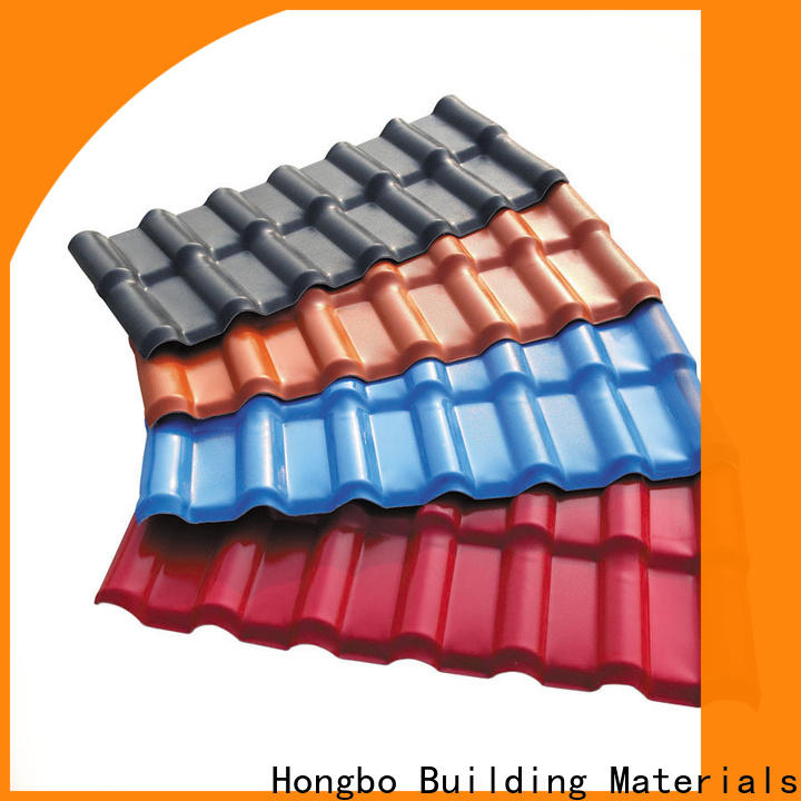 Redwave first-rate synthetic resin roof tile inquire now for workhouse