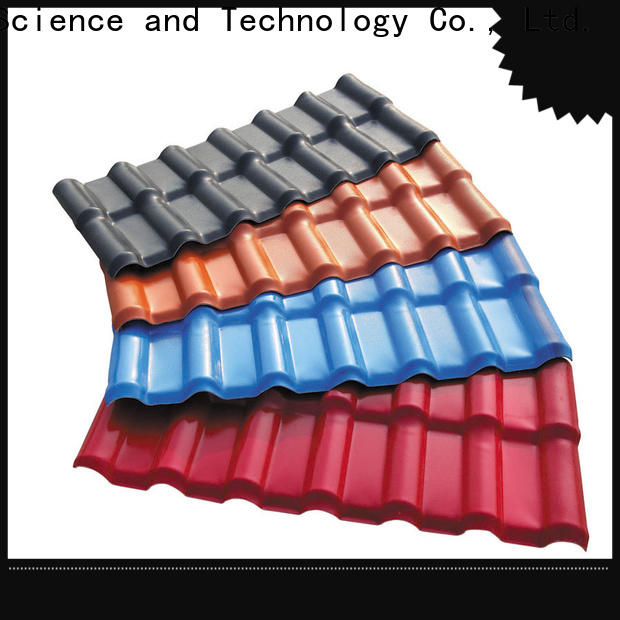eco-friendly resin roof tiles corrosion for workhouse
