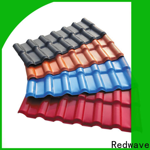 low cost synthetic resin roof tile heat with good price for factory