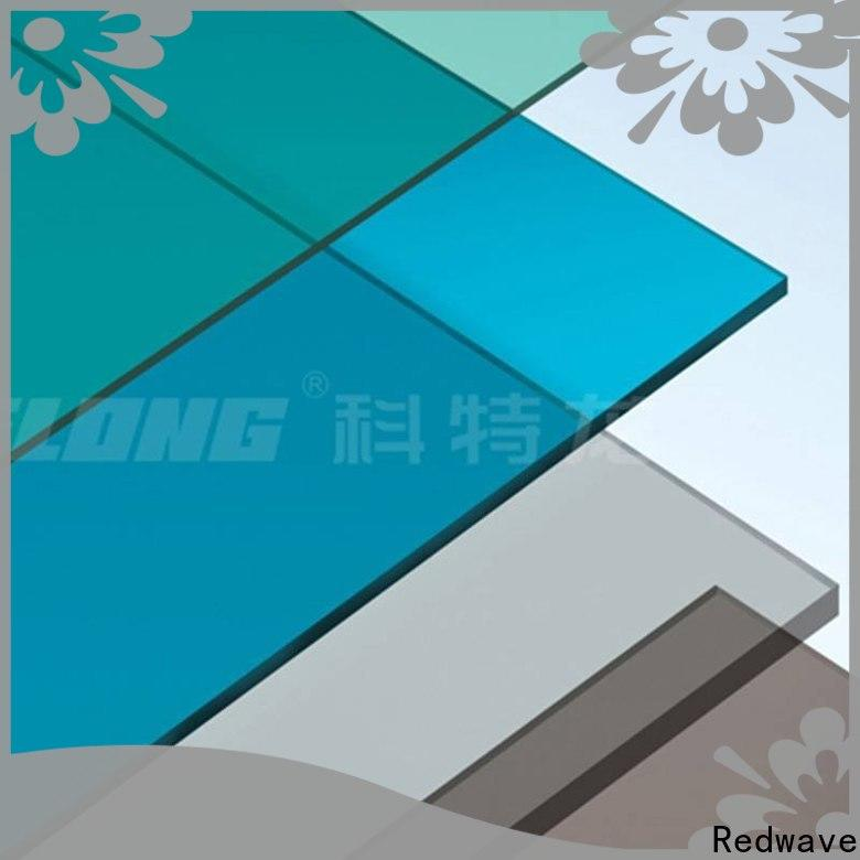 Redwave wholesale polycarbonate panels in bulk for factory
