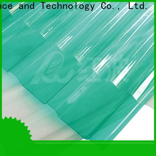 Redwave affordable polycarbonate sheet certifications for factory