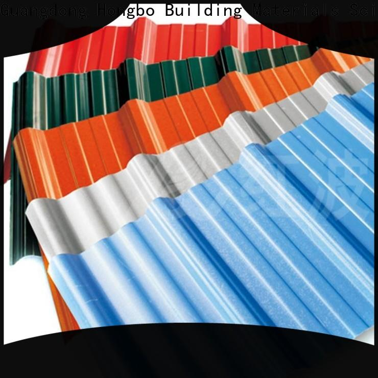 Redwave color corrugated plastic roofing sheets inquire now for workhouse