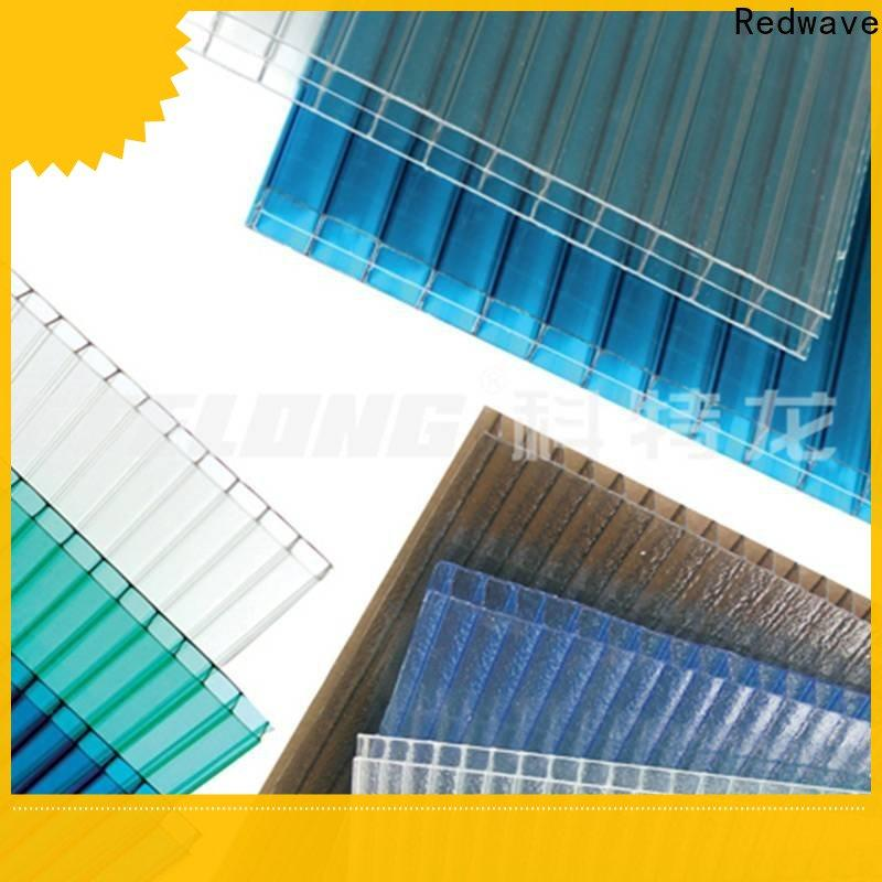 Redwave clear polycarbonate sheet order now for ocean hall
