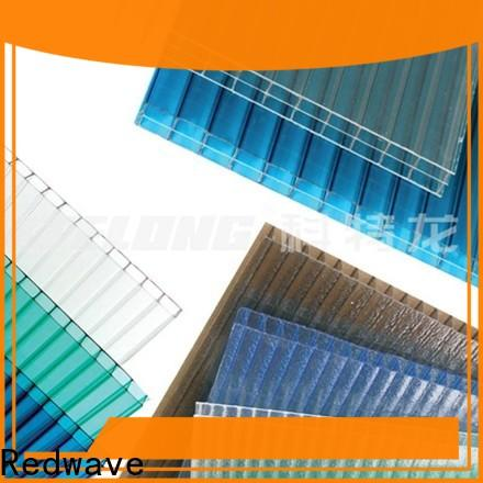 Redwave polycarbonate roof with good price for factory