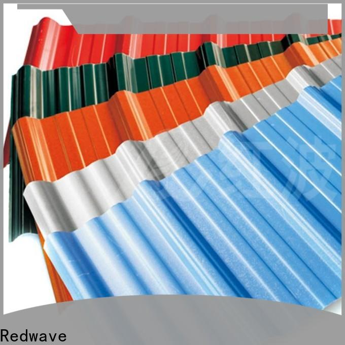 Redwave wholesale corrugated roofing from China for residence