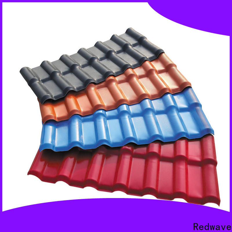 Redwave heat fibreglass roof factory price for factory
