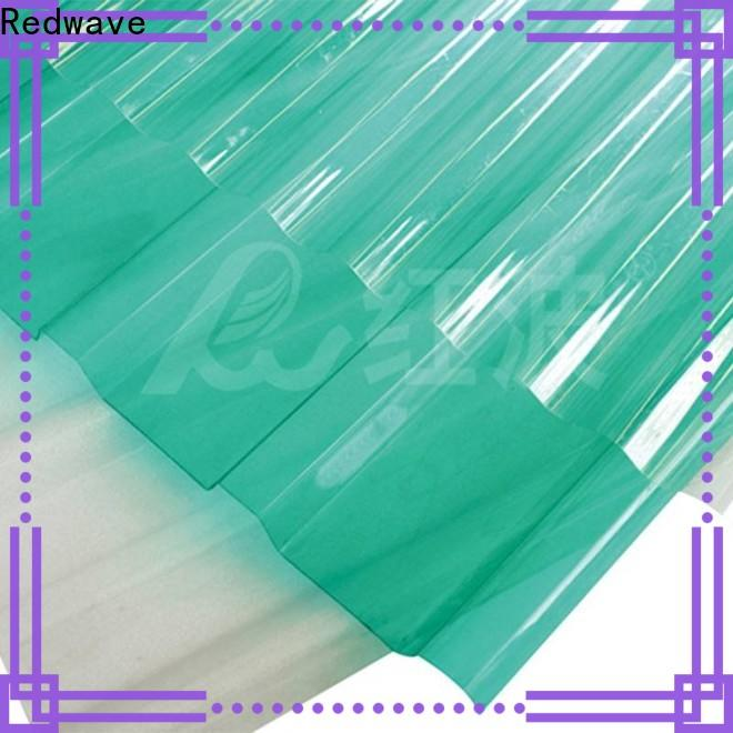 Redwave first-rate polycarbonate roofing sheets inquire now for ocean hall