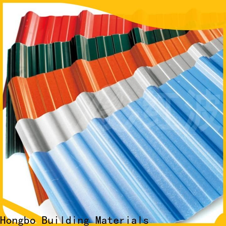 Redwave heat roofing sheets from China for workhouse