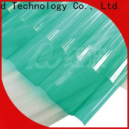 first-rate polycarbonate roofing sheets matte certifications for factory