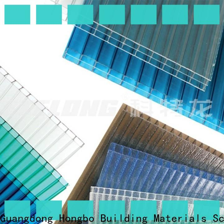 Redwave affordable polycarbonate roofing sheets with good price for residence