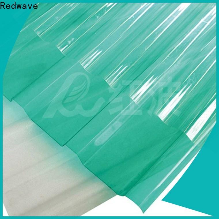 Redwave affordable polycarbonate panels in bulk for residence