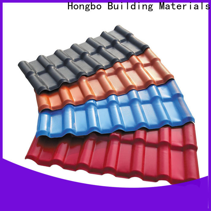 Redwave low cost roofing resin in bulk for scenic buildings