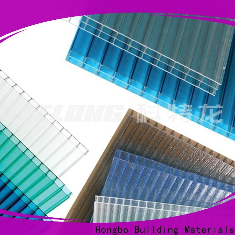 Redwave solid polycarbonate sheet with certification for residence
