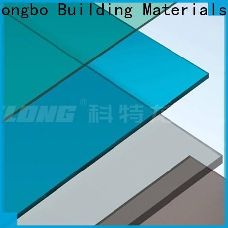 Redwave solid polycarbonate sheet in bulk for ocean hall