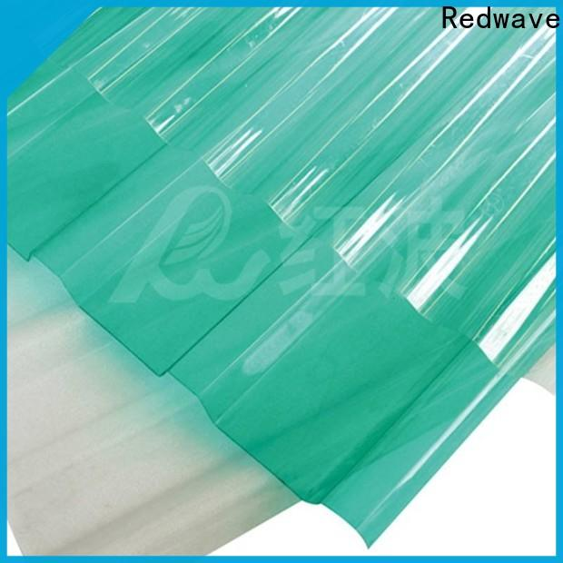 Redwave superior polycarbonate panels factory price for housing