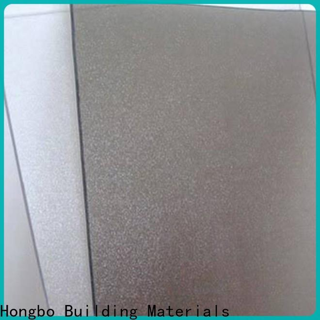 best-selling polycarbonate roof diamond factory price for scenic buildings