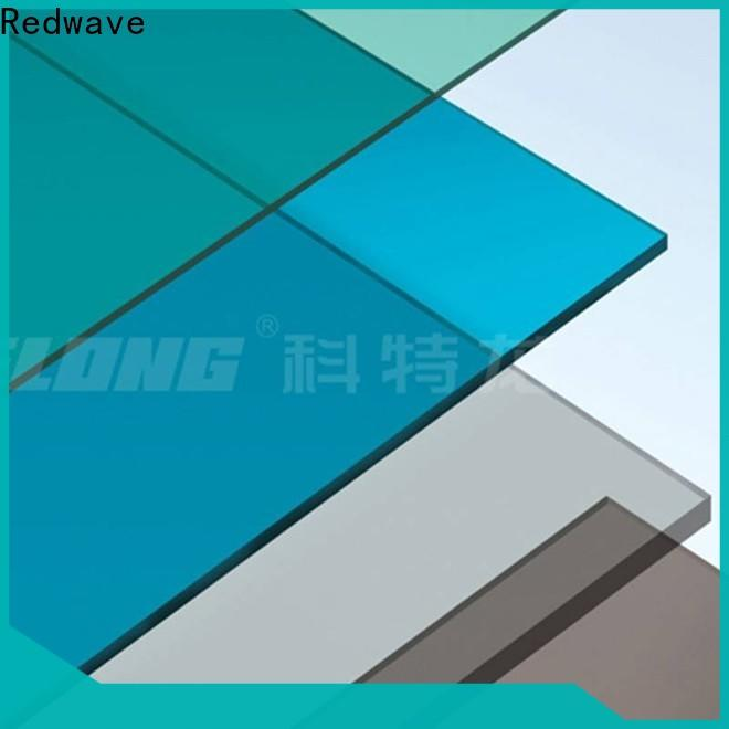 Redwave diamond polycarbonate roofing sheets order now for scenic buildings