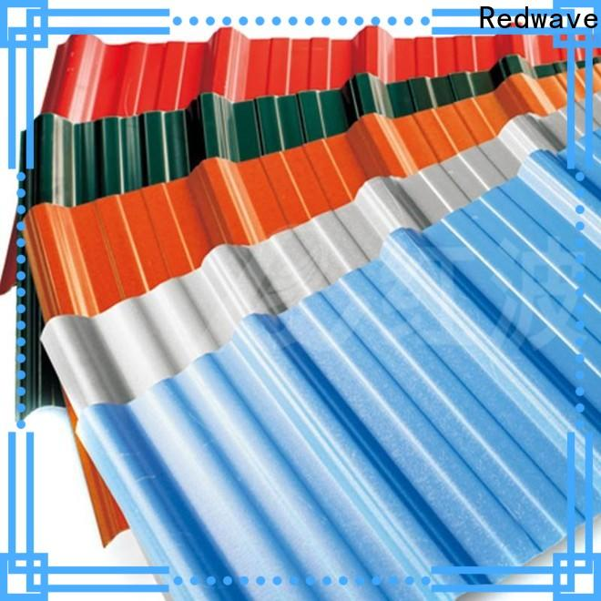 durable pvc roofing sheet redwave widely use for scenic buildings