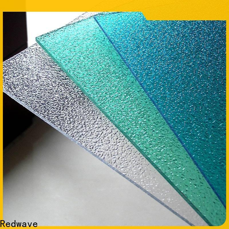 Redwave inexpensive plexiglass sheets certifications for residence