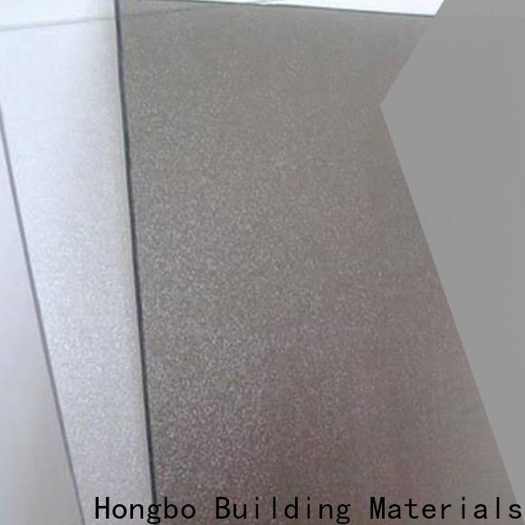 Redwave striped plexiglass sheets from China for housing