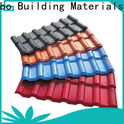 Redwave affordable plastic roofing sheets with certification for residence