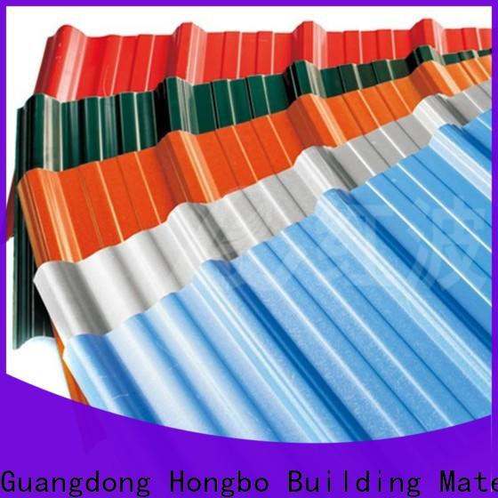 Redwave heat roofing sheets from China for factory