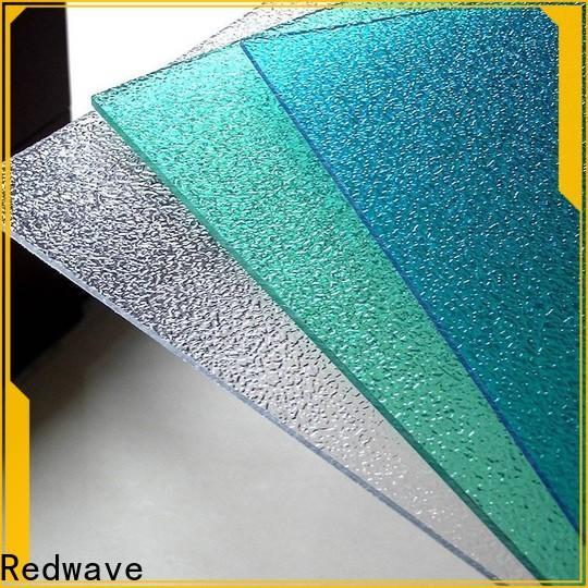 Redwave wholesale plexiglass sheets in bulk for scenic buildings