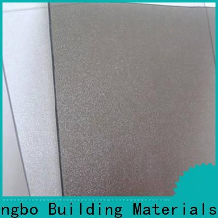 polycarbonate panels matte with good price for scenic buildings