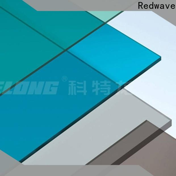 Redwave inexpensive plexiglass sheets with certification for residence