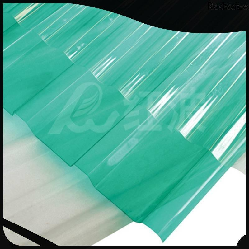 Redwave matte polycarbonate sheet with good price for ocean hall