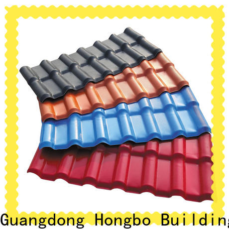 best-selling plastic roof tiles resistance with good price for factory
