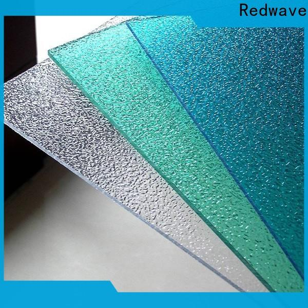 newly polycarbonate roofing sheets embossed inquire now for factory