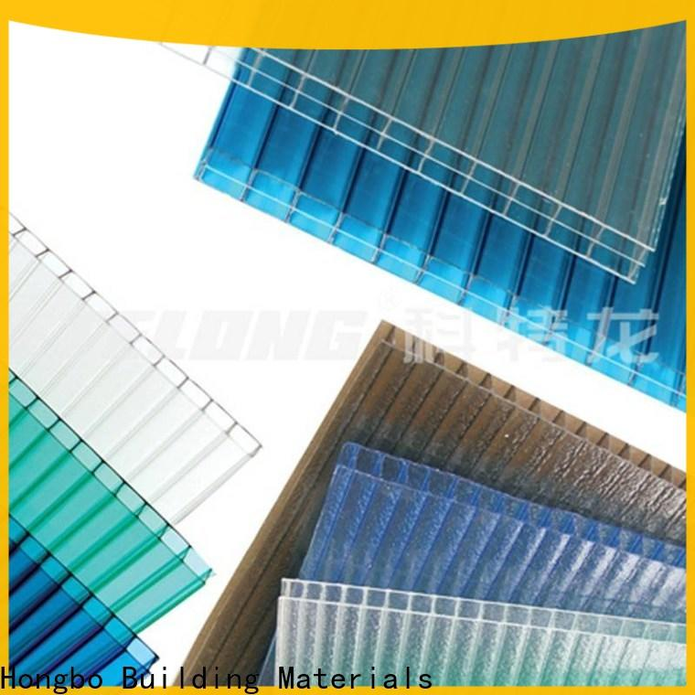 durable polycarbonate sheet solid certifications for residence
