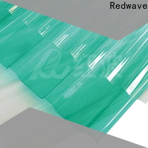 Redwave eco-friendly polycarbonate sheet from China for residence
