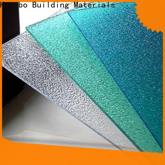 Redwave matte clear polycarbonate sheet with good price for workhouse