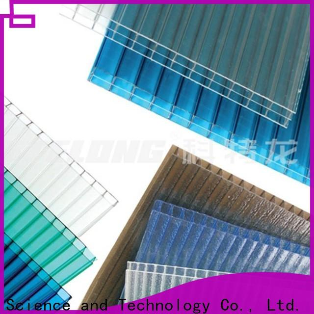 affordable polycarbonate panels raindrop from China for ocean hall