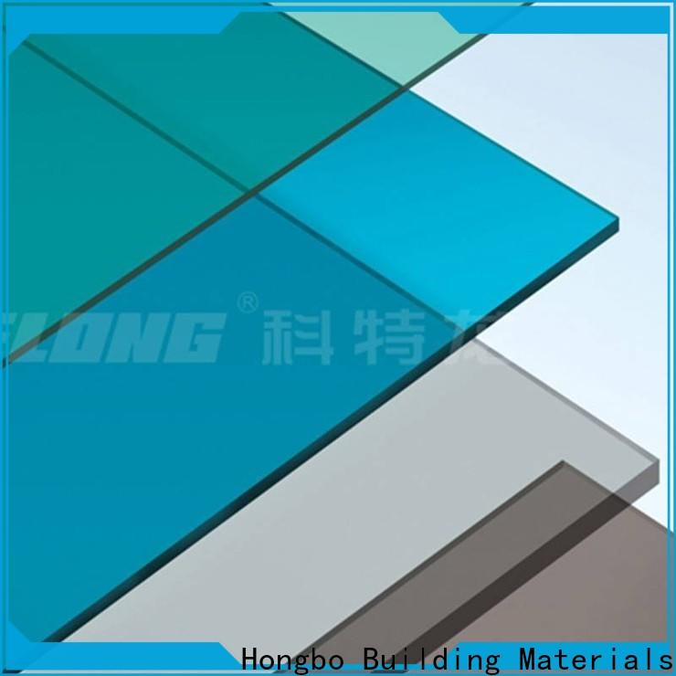 eco-friendly clear polycarbonate sheet solid with good price for housing