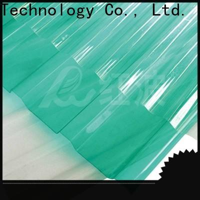 Redwave striped plexiglass sheets from China for factory