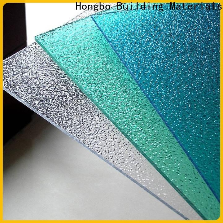 Redwave inexpensive clear polycarbonate sheet with good price for housing