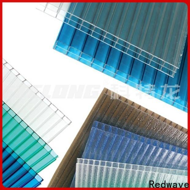 polycarbonate roof matte with good price for scenic buildings