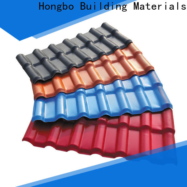 Redwave corrosion plastic roofing sheets factory price for scenic shed