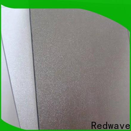 Redwave sheet polycarbonate roof from China for scenic buildings