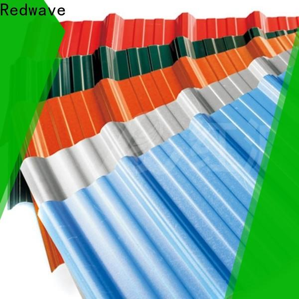 Redwave upvc corrugated plastic sheets for-sale for residence