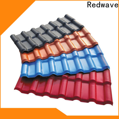Redwave redwave fibreglass roof with good price for factory