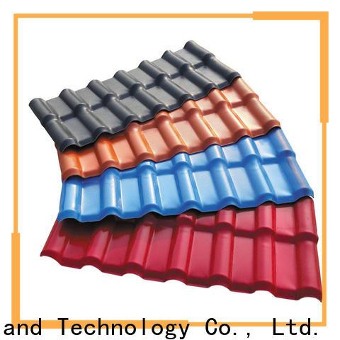 Redwave tile roofing resin for factory