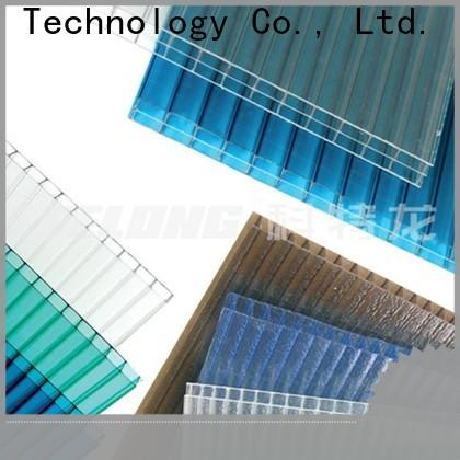 durable polycarbonate roof matte with certification for scenic buildings